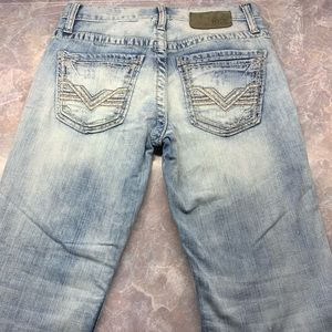BKE 28×29 Jake bootleg 28S light wash Jeans (i6)